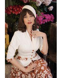 Miss Candyfloss 50s Floria May Blazer Jacket - Meerkleurig