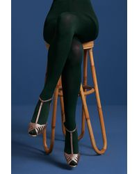 King Louie 60s Solid Tights - Groen