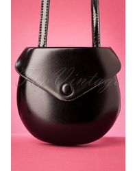 Banned Retro 60s Tallulah Mini Shoulder Bag - Zwart