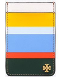 Tory Burch - Multi-stripe Card Pocket Case For Iphone 7 - Lyst