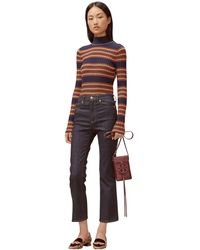 Tory Burch Mid-rise Jeans - Blue
