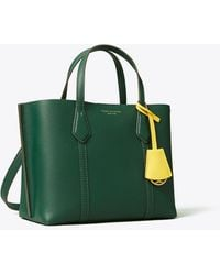 Tory Burch Perry Small Triple-Compartment Tote - Grün