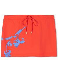 Tory Burch Talisay Swim Skirt - Black