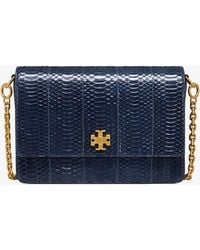 Tory Burch - Kira Snake Double-strap Shoulder Bag - Lyst