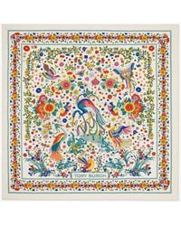 Tory Burch - Promised Land Silk Square Scarf - Lyst