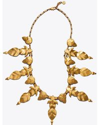 Tory Burch - Willow-leaf Necklace - Lyst