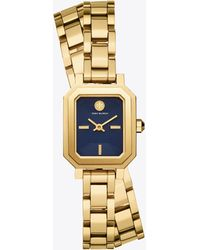 Tory Burch Robinson Analogue Watch - Metallic