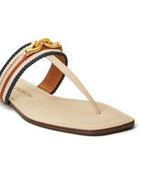 Tory Burch Jessa Thong Sandals - Blue