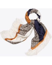Tory Burch - Octagon Square Scarf - Lyst