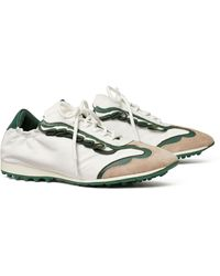 Tory Sport Ruffle Tory Golf Sneaker - Green