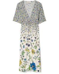 Tory Burch Printed Midi Beach Dress - Mehrfarbig