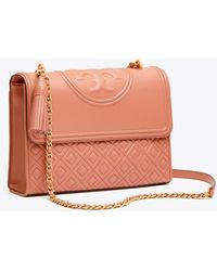 Tory Burch - Fleming Convertible Shoulder Bag - Lyst