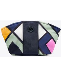 Tory Burch - Nylon Small Dome Cosmetic Case - Lyst