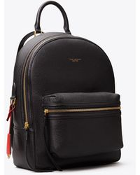 Tory Burch Perry Leather Backpack - Schwarz