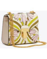 Tory Burch Juliette Applique Mini Bag - Multicolour