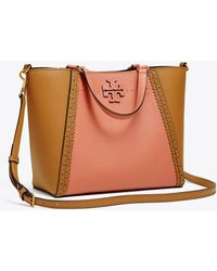 Tory Burch - Mcgraw Brogue Small Carryall - Lyst