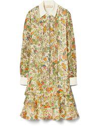 Tory Burch Printed Convertible Lurex Dress - Mehrfarbig