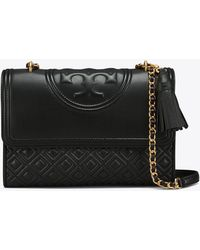 7faa0a44856 Tory Burch - Fleming Convertible Shoulder Bag - Lyst