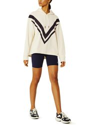 Tory Sport French Terry Chevron Hoodie - Multicolor