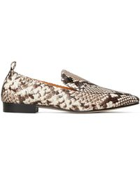 Tory Burch Kira Embossed Stretch Loafer - Multicolour