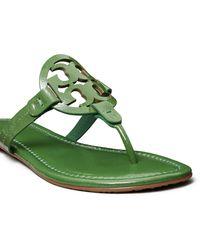 Tory Burch Miller Flip Flop - Green