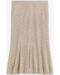 Tory Burch - Gemini Link Knit Skirt - Lyst