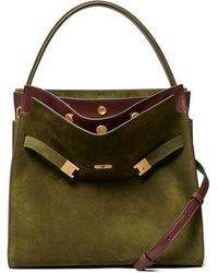 Tory Burch Lee Radziwill Double Bag - Green