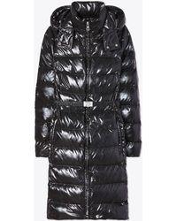 952c2856b176 Tory Burch Aaron Puffer Coat in Black - Lyst