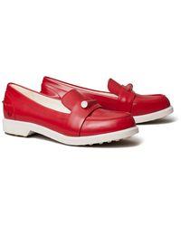 Tory Sport Pocket-tee Golf Loafer - Red