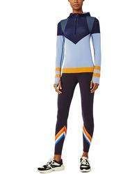 Tory Sport Seamless Half-zip Pullover - Blue