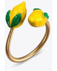 Tory Burch | Delicate Lemon Ring | Lyst