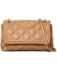 Tory Burch Fleming Quilted Leather Shoulder Bag - Multicolour