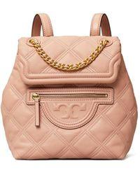 Tory Burch Fleming Soft Mini Backpack - Pink