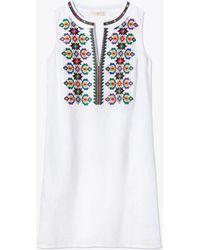 Tory Burch - Sleeveless Dress - Lyst