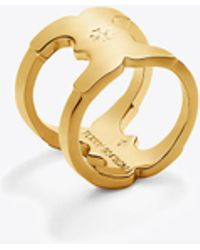 Tory Burch - Gemini Link Ring - Lyst