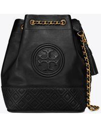 Tory Burch - Fleming Bucket Bag - Lyst