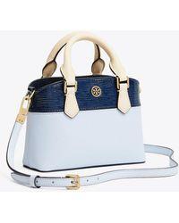 Tory Burch - Robinson Color-block Top-handle Mini Bag - Lyst