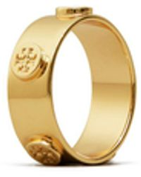 Tory Burch Miller Stud Ring - Multicolour