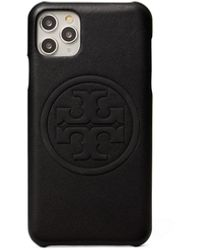Tory Burch Perry Bombe Phone Case For Iphone 11 Pro Max - Black