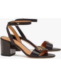 e195bb719c4bf Hot Tory Burch - Women s Kira Block Heel Sandals - Lyst