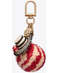 Tory Burch - Straw Hat Key Ring - Lyst
