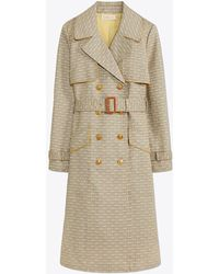 Tory Burch - Gemini Link Trench Coat | 927 | Trench - Lyst