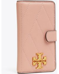 Tory Burch Kira Chevron Iphone 8 Case - Pink