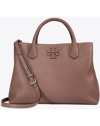 Tory Burch | Mcgraw Triple-compartment Tote | Lyst