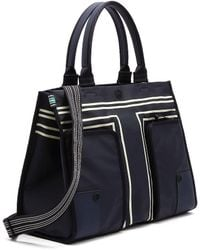Tory Sport Canvas Tote - Blue