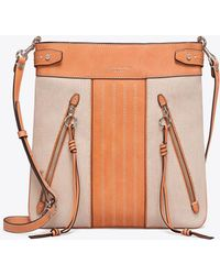 Tory Burch - Moto Canvas Swingpack - Lyst