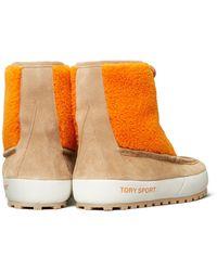 Tory Sport Color-block Lace-up Boots - Multicolor