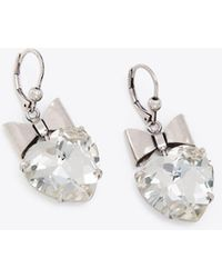Tory Burch - Heart And Bow Earring - Lyst