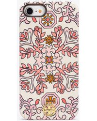 Tory Burch - Hicks Garden Sliding Mirror Case For Iphone 8 - Lyst