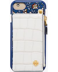 Tory Burch - Hardshell Pocket-back Case For Iphone 8 - Lyst